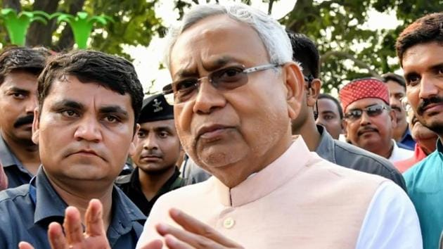 Bihar Chief Minister Nitish Kumar offered insight into his thinking over President's rule in Maharashtra(HT Photo/Representative)