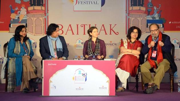 The litfest movement in India springs from the pioneering JLF. Starting as part of another festival in 2006, and becoming a stand-alone event in 2008, JLF has grown into the world's biggest literary festival(Prabhakar Sharma\HIndustan Times)