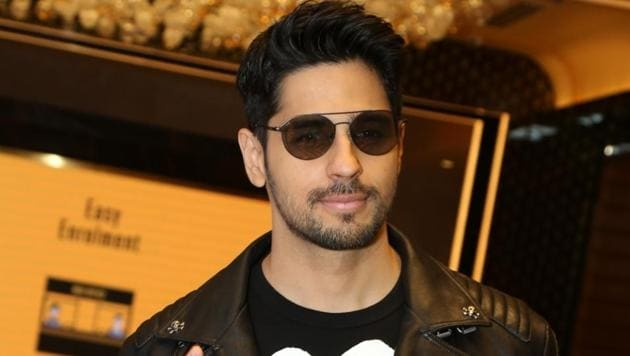 Sidharth Malhotra during the promotions of their upcoming film Marjaavaan in New Delhi.(IANS)
