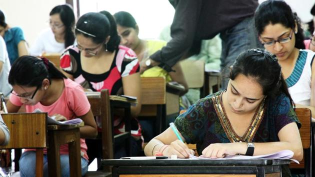 The thirteenth edition of Central Teacher Eligibility Test (CTET) will be held on December 8, 2019 in 110 cities all over the country.(HT file)