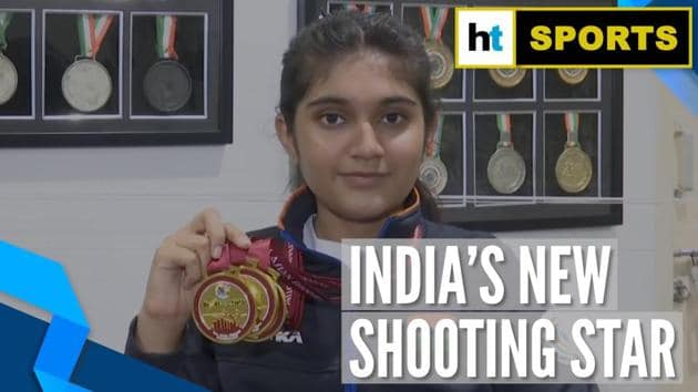 14-year-old Esha Singh has made India proud. The Hyderabad girl won 3 gold medals in the junior category at the Asian Shooting Championships in Doha. Esha Singh said that her next goal was to win a gold medal at the 2022 Youth Olympics. She added that she has worked very hard to achieve her goals. She said that she has been practicing for 8 hours daily at the shooting range.