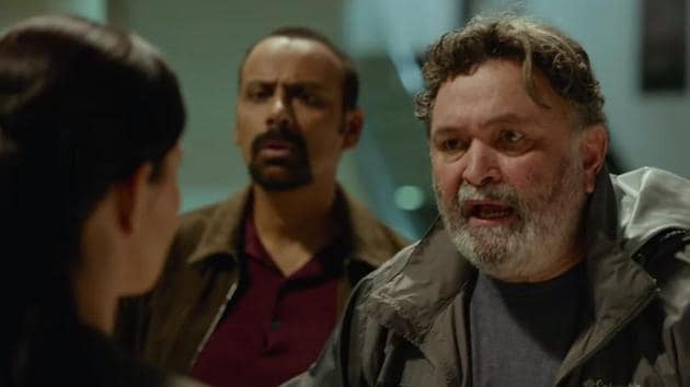 Rishi Kapoor in a still from The Body trailer.