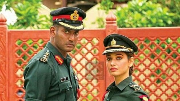 Action movie review: Vishal, Tamannaah starrer is a lousy espionage