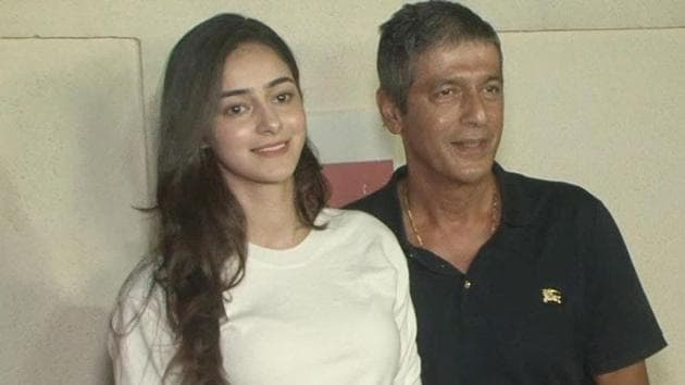 Ananya Panday says father Chunky saw her act for the first time on sets of
