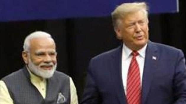 The two-track negotiations were first discussed publicly by President Donald Trump in remarks to reporters before his bilateral meeting with Prime Minister Narendra Modi on the sidelines of the UN General Assembly meetings in New York in September.(REUTERS PHOTO.)