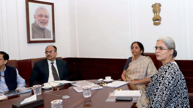The finance minister also proposed to carry out a similar exercise in various circles across the country to take feedback and acquaint taxpayers with the new forms. (Photo @FinMinIndia)