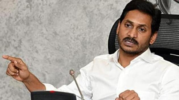 The submission of the affidavit comes in the wake of reports that the initial bonhomie between Andhra Pradesh chief minister Y S Jagan Mohan Reddy and his Telangana counterpart K Chandrasekhar Rao has disappeared following the former's decision to go ahead with his own Godavari-Krishna river linkage project.(ANI PHOTO.)