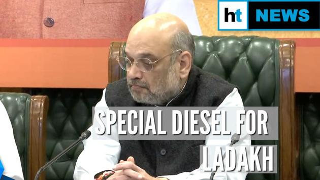 Union Home Minister Amit Shah inaugurated the supply of a special diesel for the Union Territory of Ladakh. The winter-grade diesel has been developed by Indian Oil Corporation, and stays unfrozen up to minus 33 degrees Celsius. Shah said that at the time of abrogation of Jammu and Kashmir's special status and bifurcation into two Union Territories, the Centre had promised multiple development initiatives for the region. He also congratulated the petroleum minister and Indian Oil for the achievement. Petroleum minister Dharmendra Pradhan and Ladakh Member of Parliament, Jamyang Tsering Namgyal were present at the event.