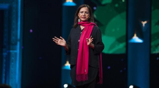 Without men's involvement, Deepa Narayan says, it will take another few centuries before our girls are safe.(Amit Madheshiya / TED)