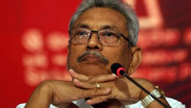 70-year-old Rajapaksa, who won a presidential election on Sunday, has vowed to drain the swamp of religious extremism(AP)