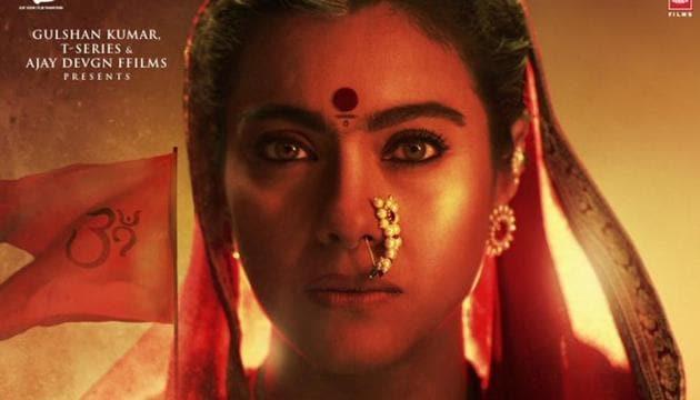 Kajol as Savitribai Malusare in Tanhaji: The Unsung Warrior.