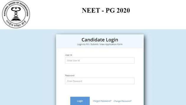 The last date to register for National Eligibility cum Entrance Test-Post Graduate (NEET-PG) 2020 is November 21 but aspirants should not wait for the last moment for applying.(nbe.edu.in)