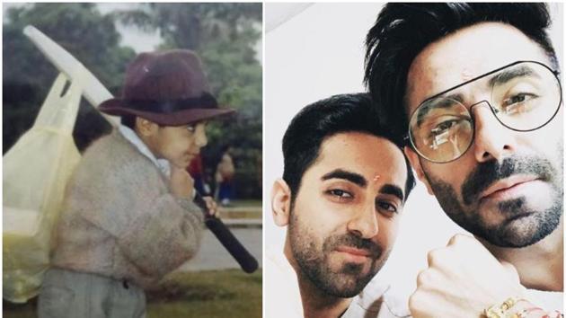 Ayushmann Khurrana has wished his kid brother Aparshakti Khurrana on his birthday.(Instagram)