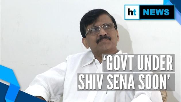 "As Maharashtra political tussle continues, Shiv Sena leader Sanjay Raut expressed confidence of forming government. ""Soon government will be formed under Shiv Sena,"" Raut said while addressing a press conference in New Delhi."