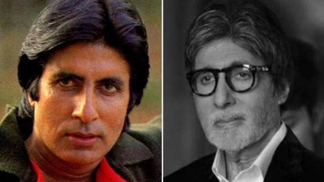 Amitabh Bachchan often shares black and white pictures from his life.(Instagram)