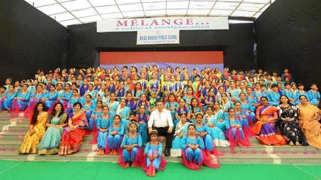 The efforts of the students, teachers and supporting staff contributed to the success of the event.(HT)