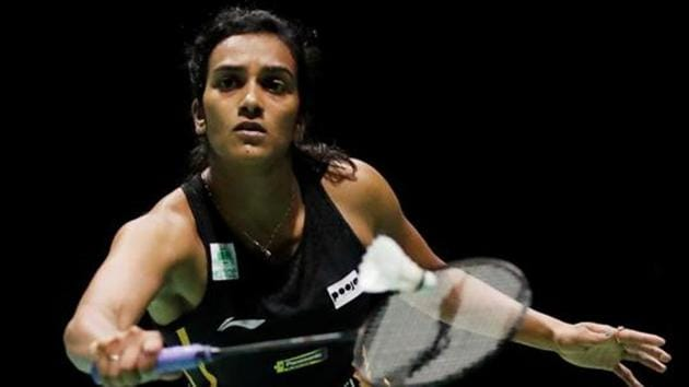 A file photo of PV Sindhu.(REUTERS)