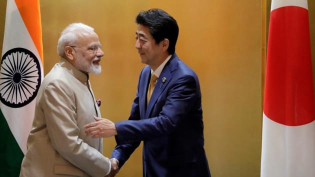 The 2+2 ministerial dialogue reflects the growing relations between India and Japan, especially on strategic and security issues.(File photo: Reuters)