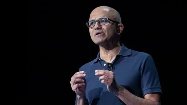 Satya Nadella took over as Microsoft CEO from Steve Ballmer in 2014.(AP Photo)