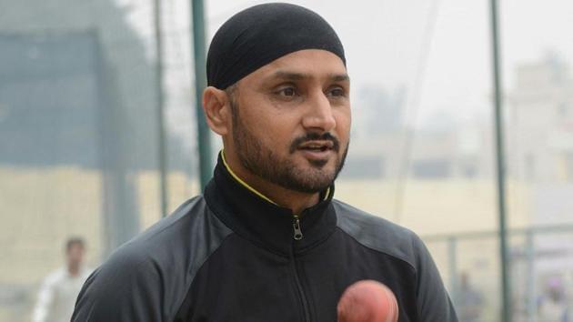 File image of Harbhajan Singh.(File image)