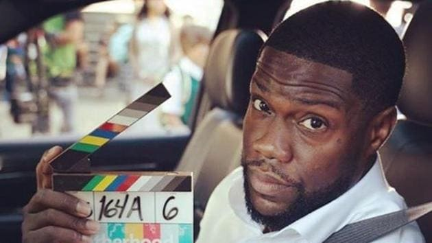 Kevin Hart is back to work just a month after his accident.