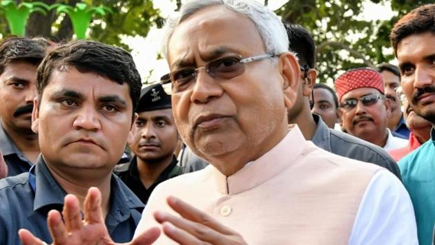 Nitish Kumar's Janata Dal (United) has said it will support former minister Saryu Roy who is contesting the assembly election in Jharkhand against chief minister Raghubar Das from Jamshedpur-East.(HT PHOTO)