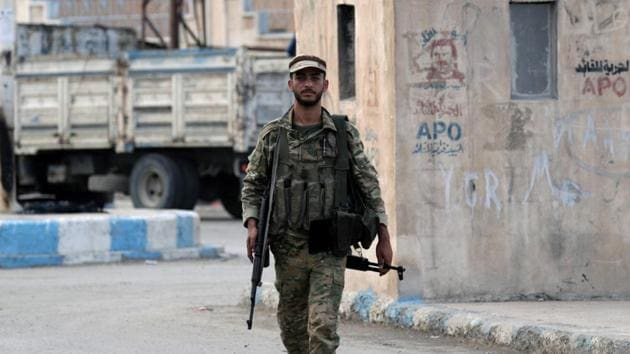 """IS has """"has activated sleeper cells to increase attacks"""" against the Kurdish-led fighters of the Syrian Democratic Forces, whom the United States relied upon in the fight against IS.(REUTERS)"""