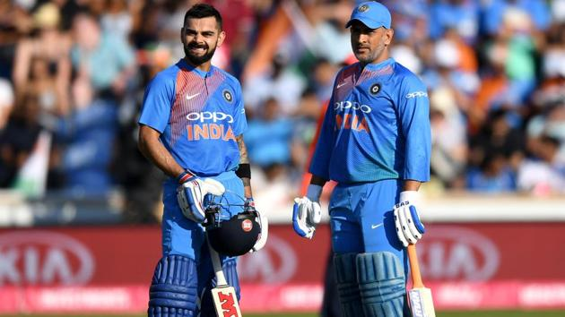 A file photo of MS Dhoni and Virat Kohli.(Getty Images)