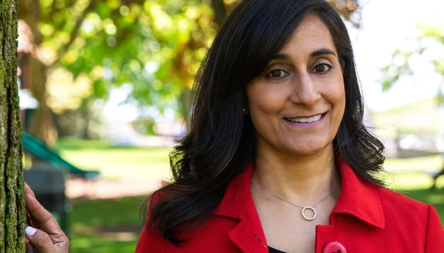 Anita Anand, who made history as she became the first-ever Hindu woman to be appointed a cabinet minister in Canada, is seen in this photo(University of Toronto)