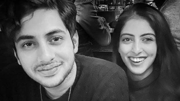 Navya Naveli Nanda chilling with brother Agastya Nanda in New York.(Instagram)