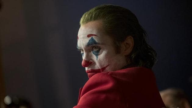 This image released by Warner Bros. Pictures shows Joaquin Phoenix in a scene from the film Joker.(AP)