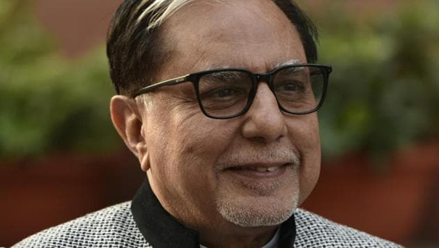 Subhash Chandra launched Zee Entertainment, considered to be the pioneer of television entertainment industry in India, in 1992.(Vipin Kumar/HT File)
