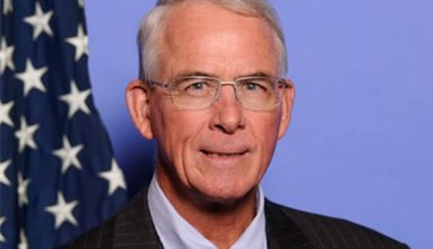 Francis Rooney is the third American lawmaker in recent days to make a statement favourable to India after Congressmen George Holding and Pete Olson.(Twitter/ Francis Rooney)