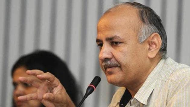 Delhi Deputy Chief Minister Manish Sisodia.(HT file)