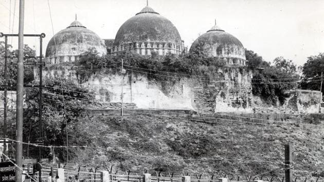 The court accepts that both Hindus and Muslims have shown evidence of worship at the Masjid after 1857.(HT Archive)