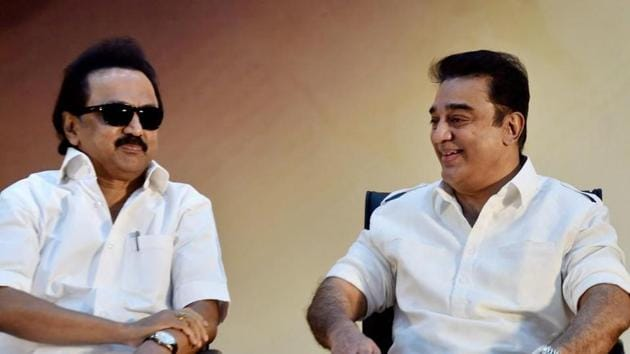 Eyeing alliance': AIADMK adds political colour to Stalin visiting Kamal  Haasan in hospital | Hindustan Times