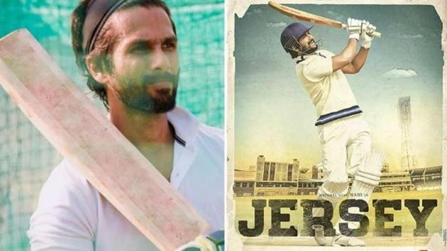 Jersey will star Shahid Kapoor and Mrunal Thakur in lead roles.