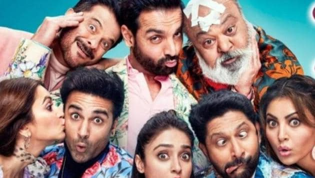 Pagalpanti box office collection day 3: The ensemble comedy couldn't recreate the success of Total Dhamaal and Housefull 4.