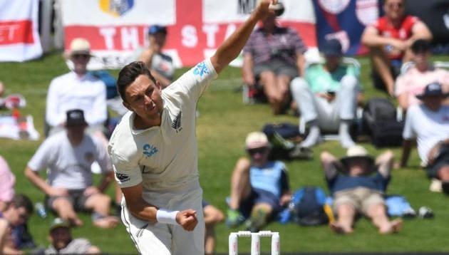 New Zealand's Trent Boult in action(REUTERS)