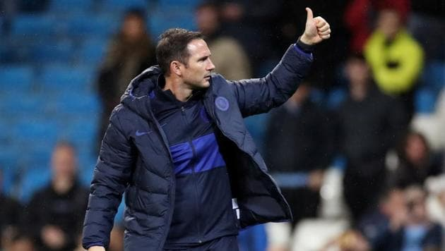 Chelsea manager Frank Lampard after the match.(Action Images via Reuters)