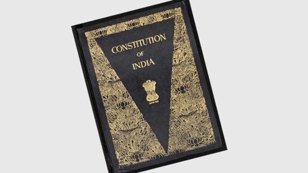 Constitution of India.(HT file)