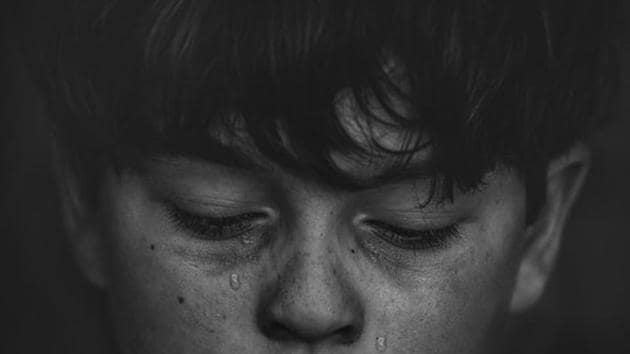 If their mothers experienced physical violence from their partner either in pregnancy or during the first six years of the child's life, the figure rises to 22.8 per cent.(Unsplash)