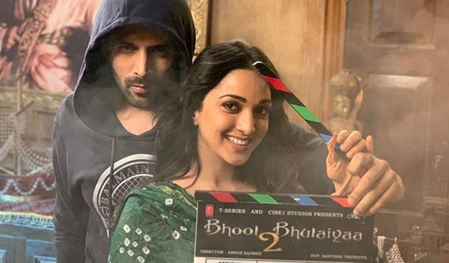 The second schedule of Bhool Bhulaiyaa 2, starring Kartik Aaryan and Kiara Advani, will start in January 2020.
