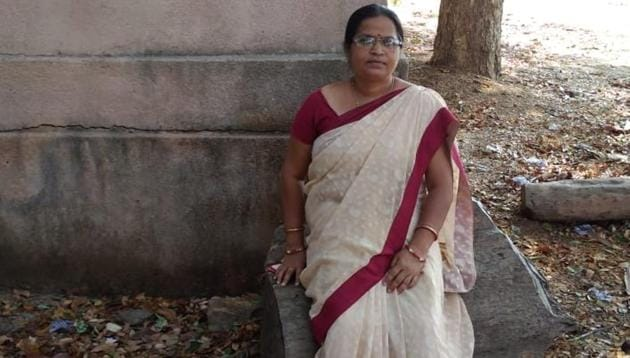 Hasan Tara, a 50-year-old Muslim teacher in Reamal block of Deogarh district has been teaching Sanskrit to her students in Khairpali high school without anyone ever raising any objection.(HT photo)
