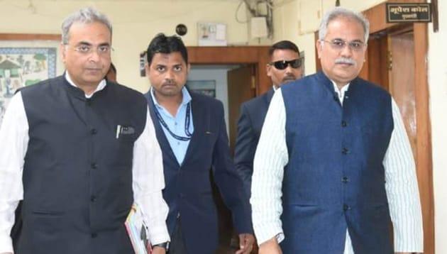 Chhattisgarh CM Bhupesh Baghel . (Photo @bhupeshbaghel