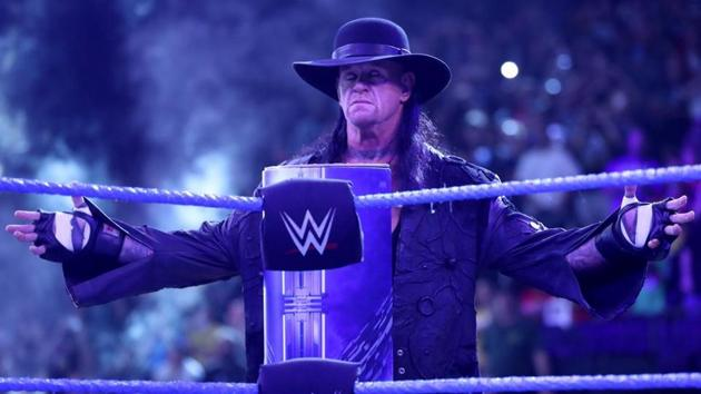 The Undertaker has enthralled the WWE universe for almost three decades.(WWE)