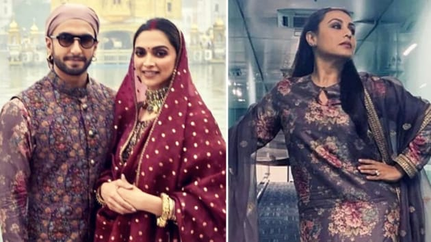 Rani Mukerji was spotted in the same Sabyasachi(Instagram)