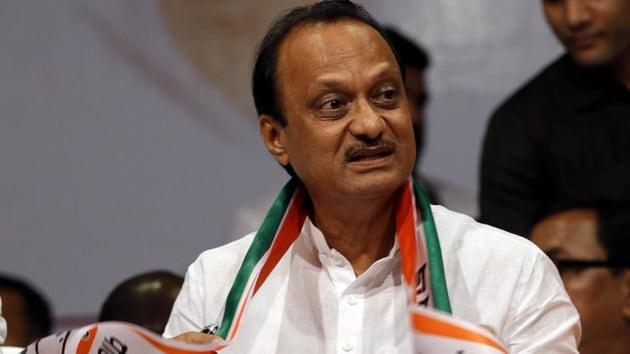 NCP's Ajit Pawar resigns as deputy Maharashtra CM.(Rahul Raut/HT PHOTO)