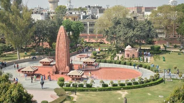 The Jallianwala Bagh site is above politics and party allegiances. It belongs to every Indian, not to any specific political party(Sameer Sehgal/Hindustan Times)