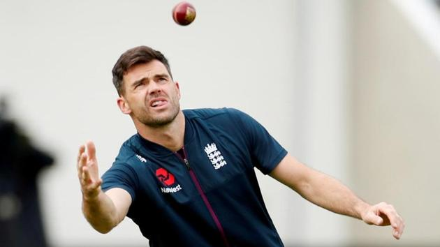England's James Anderson(Action Images via Reuters)